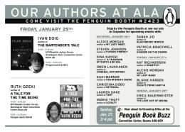 ouR auThoRS aT ala - Penguin Group
