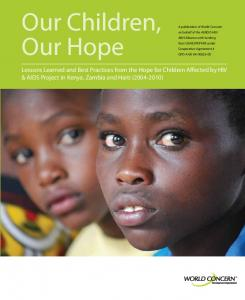 Our Children, Our Hope - usaid
