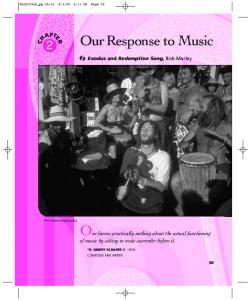 Our Response to Music