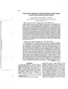 Outer Sphere Oxidations of Alcohols and Formic Acid ...