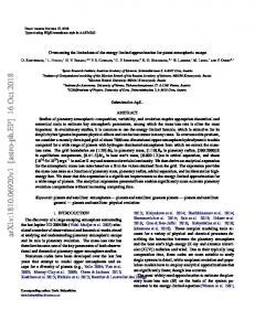 Overcoming the limitations of the energy-limited approximation for