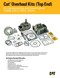 Overhaul Kits (Top End) - albahar.com