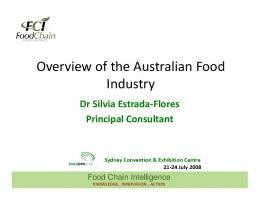 Overview of the Australian Food Industry - Food Chain Intelligence