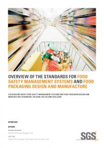 overview of the standards for food safety ... - WordPress.com