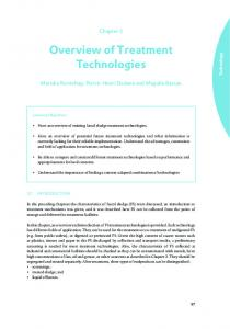 Overview of Treatment Technologies - Eawag