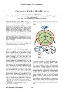 Overview of Wireless Mesh Networks - Semantic Scholar