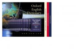 Oxford English Dictionary Online - CAUL