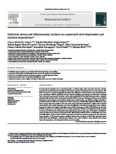 Oxidative stress and inflammatory markers are associated with ... - Core