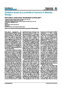 Oxidative stress as a covariate of recovery in ... - Semantic Scholar