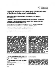 Oxidative stress, nitric oxide, and the ... - Wiley Online Library