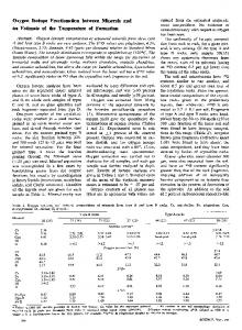 Oxygen Isotope Fractionation between Minerals and ...