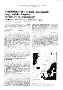 oxygen-isotope stratigraphy