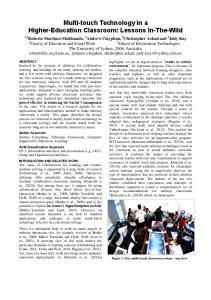 OzCHI Conference Paper Format