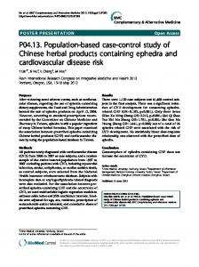 P04.13. Population-based case-control study of ... - Semantic Scholar