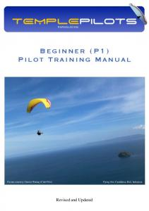 P1 Training Manual - Temple Pilots