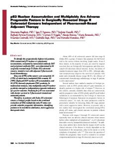 p53 Nuclear Accumulation and Multiploidy Are ... - Semantic Scholar