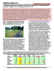 pace insights - PACE Turf