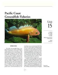 pacific Coast groundfish fisheries - NMFS Scientific Publications Office