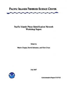 Pacific Islands Photo-Identification Network Workshop Report