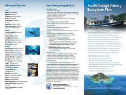 Pacific Pelagics - Western Pacific Fishery Council