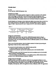 Package Insert - InterSol - Food and Drug Administration