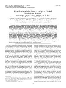 Paecilomyces variotii - Journal of Clinical Microbiology - American ...