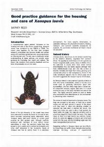 Page 1 December 2009 Animal Technology and Welfare Good ...