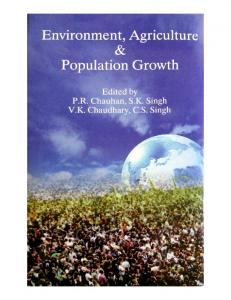 Page 1 Environment, Agriculture & Population Growth Edited by P.R. ...