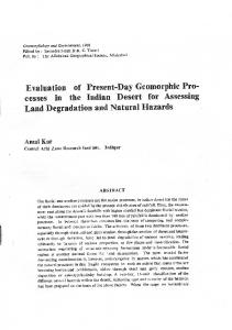 Page 1 Geomorphology and Environment, 1988 Edited by: Savindra ...