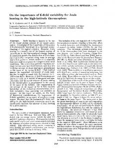 Page 1 GEOPHYSICAL RESEARCH LETTERS, VOL. 22, NO. 17 ...