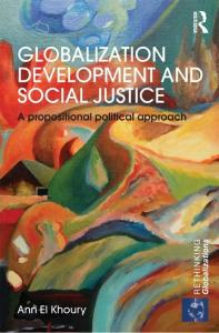 Page 1 GLOBALIZATION DEVELOPMENT AND SOCIAL JUSTICE ...