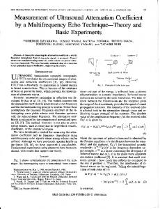 Page 1 IEEE TRANSACTIONS ON ULTRASONICS ...