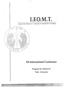 Page 1 I.E.O.M.T. International Federation of Orthopaedic ...