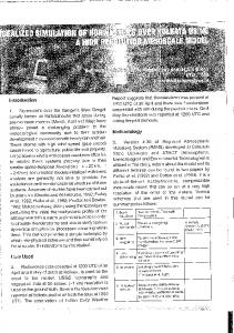 Page 1 Introduction 1. Norwester's over the Gangetic West Bengal ...