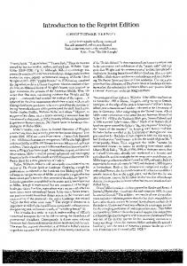 Page 1 Introduction to the Reprint Edition CHRISTOPHER VERNON ...