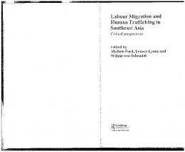 Page 1 Labour Migration and Human Trafficking in Southeast Asia ...