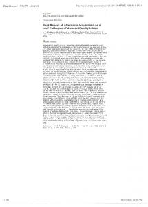 Page 1 Plant Disease - 83 (9):878 - Abstract http://apsjournals.apsnet ...