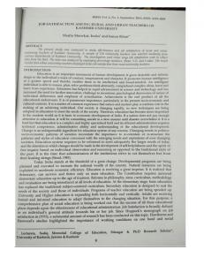 Page 1 - RED, Vol. 2, No. 1, September 2013, ISSN: 2) JOB ...
