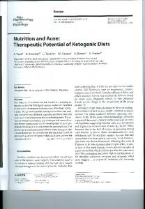 Page 1 Review Pharmacology and Physiology Nutrition and Acne ...