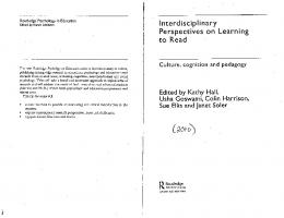Page 1 Routledge Psychology in Education Edited by Karen Littleton ...