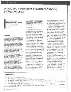 Page 1 Scientific Article Special issue Physicians' Perceptions of ...