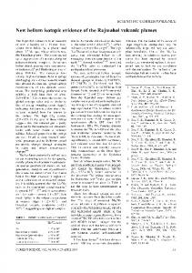 Page 1 SCIENTIFIC CORRESPONDENCE New helium isotopic ...