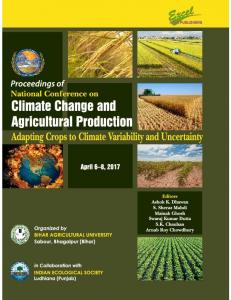 Page 1 UBLISHERS Proceedings of National Conference on Climate ...