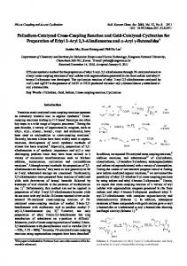 Palladium-Catalyzed Cross-Coupling Reaction and ...