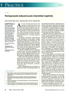 Pantoprazole-induced acute interstitial nephritis