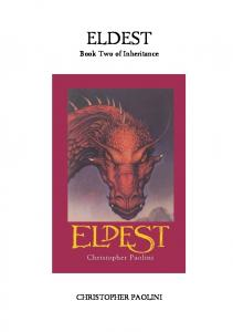 Paolini, Christopher - Inheritance Trilogy, Book 2 - Eldest (v1.5)
