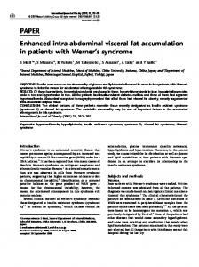 PAPER Enhanced intra-abdominal visceral fat ...
