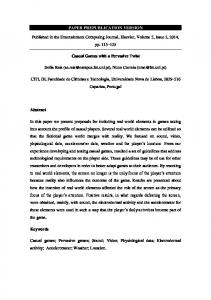 PAPER PREPUBLICATION VERSION Published in the ... - Sofia Ester