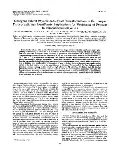 Paracoccidioides brasiliensis - PubMed Central Canada
