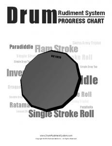 Paradiddle - Drum Rudiment System